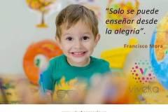 Solo se puede enseñar desde la alegría (Francisco Mora)